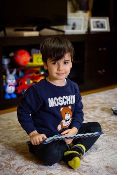 Teo la 4 ani